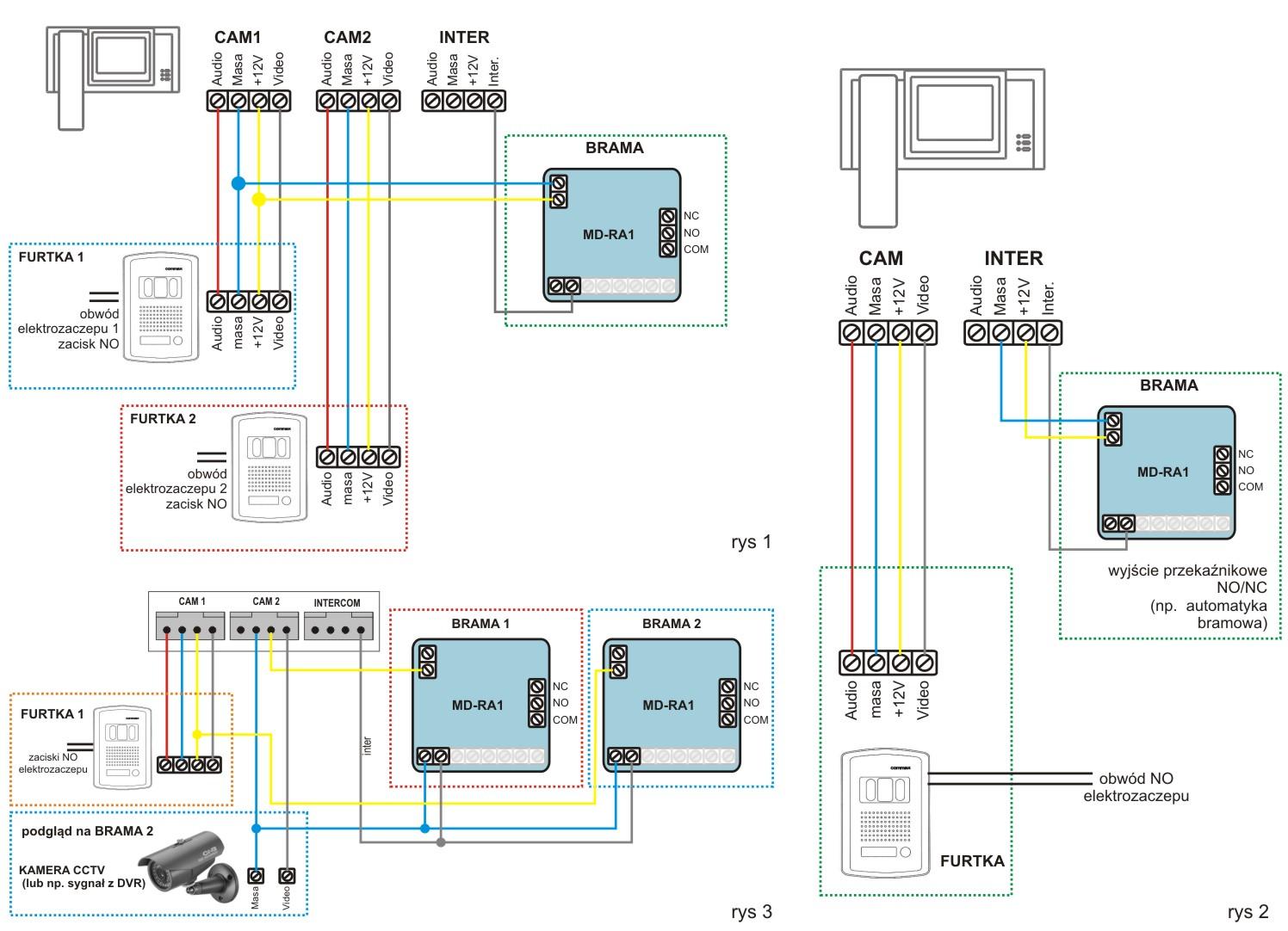 Commax 71am схема подключения фото 133